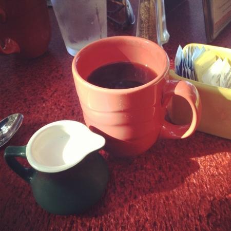 Miguelitos: coffee