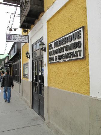 El Albergue Ollantaytambo: Entrance
