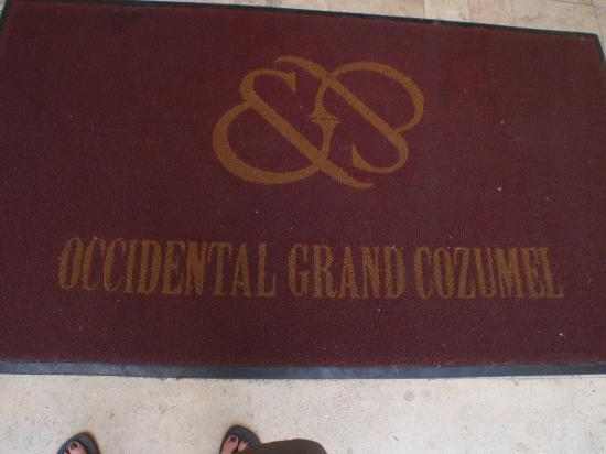 Occidental Grand Cozumel: enctrance