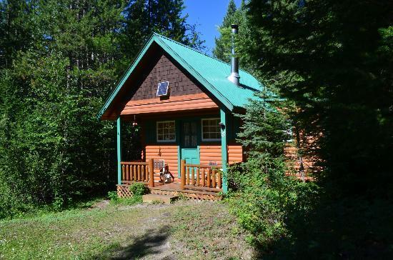 Cross River Wilderness Centre : Our Cabin