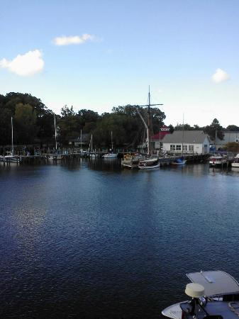 Old Harbor Inn: view