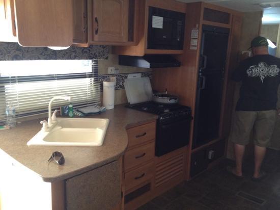 Camp Richardson Resort: turn key trailer kitchen 