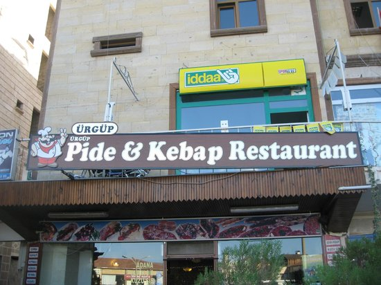 Ürgüp Pide and Kebap Salonu : Front of restaurant