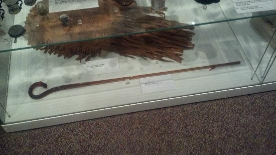 Missouri History Museum: Amber Glass Cane from the 1904 World's Fair
