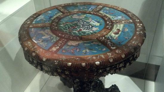 Missouri History Museum: Chinese Decorative Table from the 1904 World's Fair