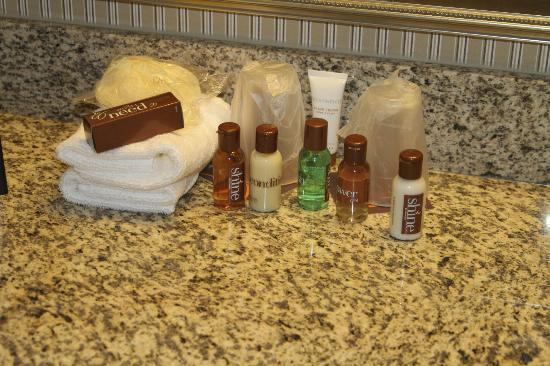 Sheraton Suites Wilmington Downtown Hotel: toiletries