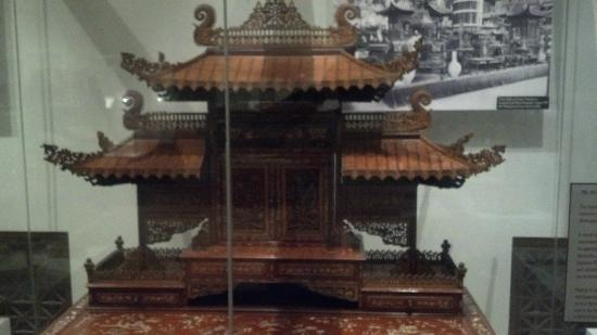 Missouri History Museum: Mini Pagoda from the 1904 World's Fair