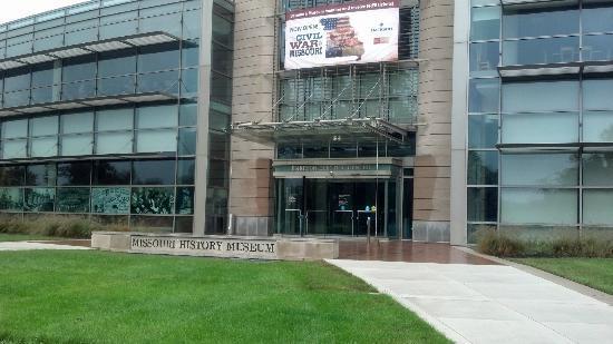 Missouri History Museum Parkside Entrance