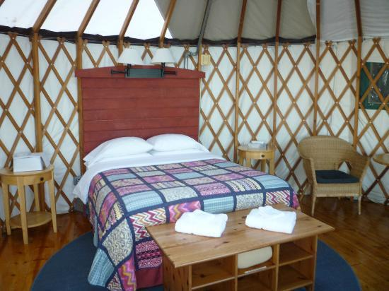 Treebones Resort: our yurt