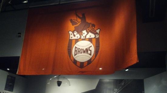Missouri History Museum: St. Louis Browns baseball team flag
