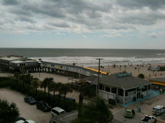 La Quinta Inn Suites Cocoa Beach Oceanfront Room With A View Taken From