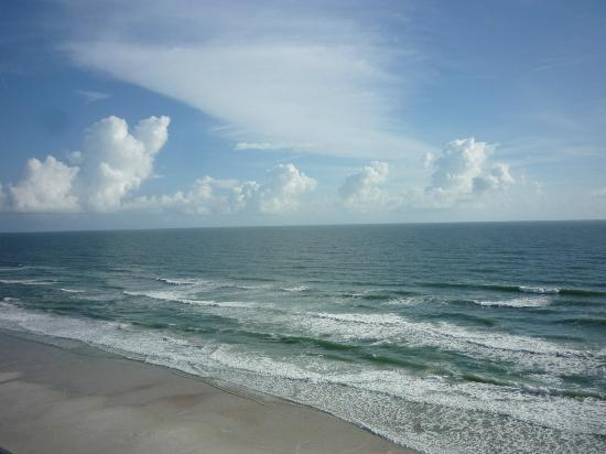 Holiday Inn Express and Suites Oceanfront: view from balcony