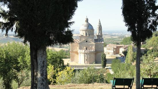 Montorio: View from the garden