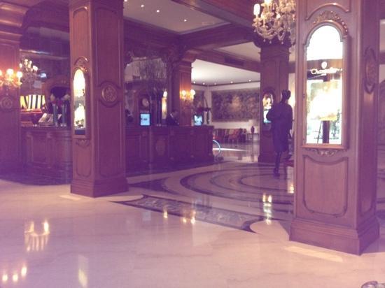 Aldrovandi Villa Borghese: the lobby