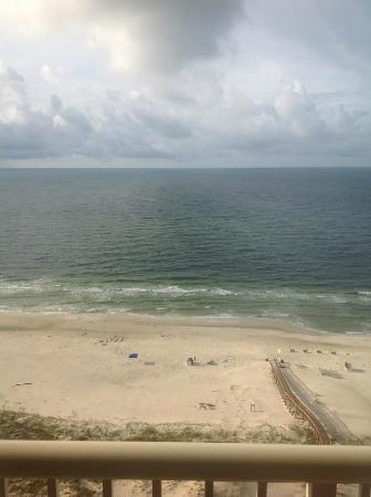 The Beach Club: View from 19th floor of Avalon Tower