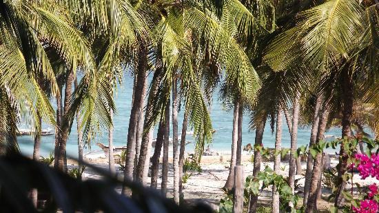 Southern Palms Beach Resort: View from our balcony