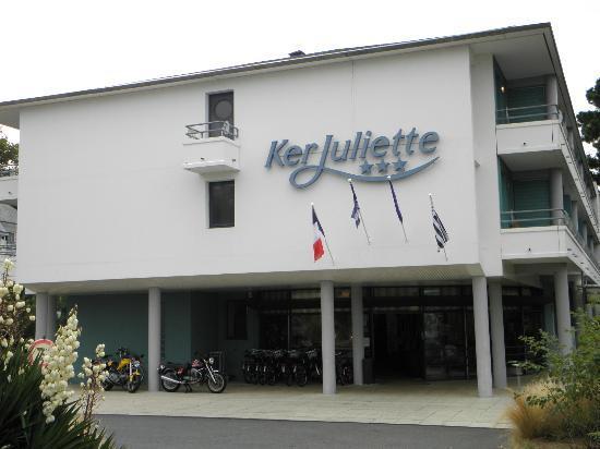 Domaine Ker Juliette : façade de l'hôtel
