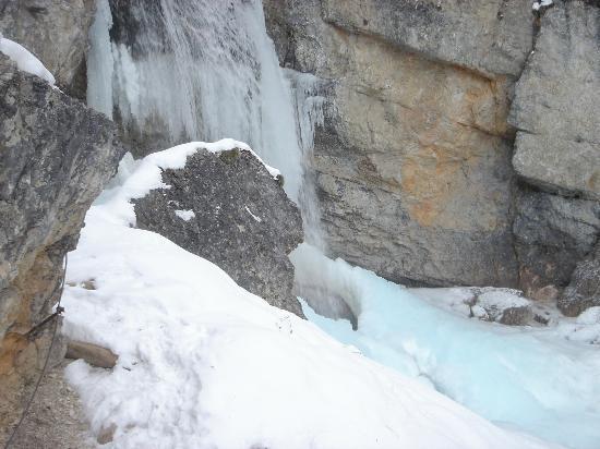 Cascate di Fanes: Il primo salto