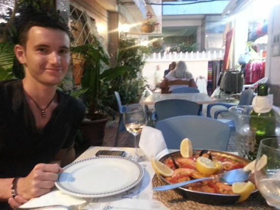 Hostal Guadalupe: Dinner