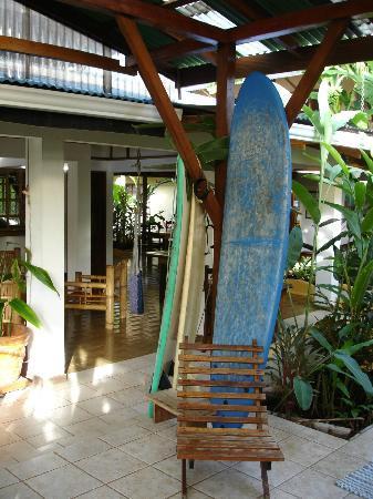Hotel Pura Vida: Lobby area
