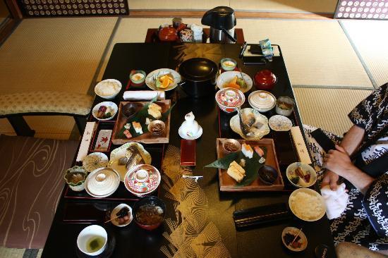 Atami Sekitei : Breakfast
