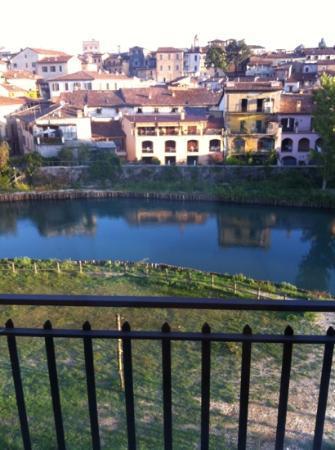 Hotel Cavour: vista dal balconcino