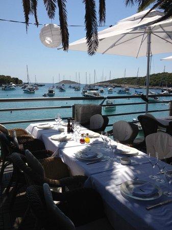 Zori Restaurant: Vista dalla Terrazza