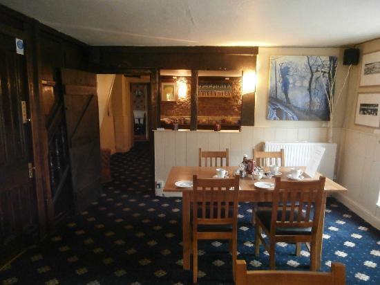 The Old Vicarage: Looking through to the bar area