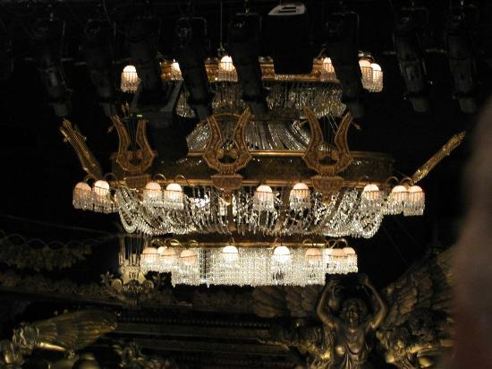 Phantom of The Opera London : The Chandelier during the break