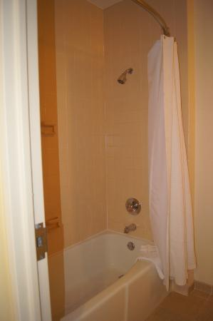 Hilton Houston Post Oak: Bathtub/Shower area!
