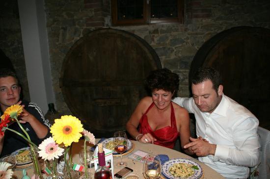 San Lorenzo della Rabatta: Diner/ Feest