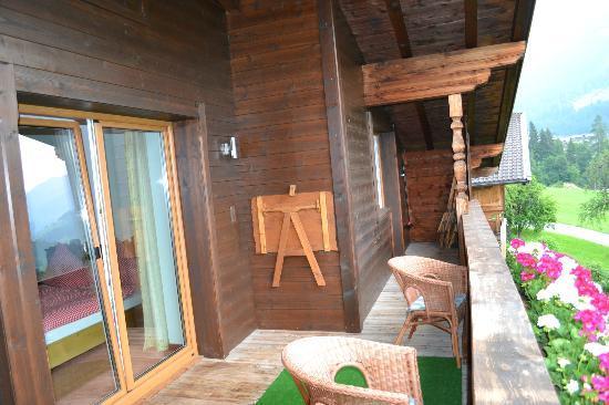 Haus Schmetterling: Balcony