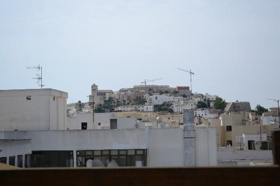Royal Plaza Hotel: View from the Rooftop of Ibiza Old Town