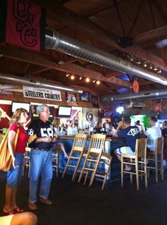 The Boathouse Waterway Bar Grill In Town From Pittsburgh 4 Steelers Raiders