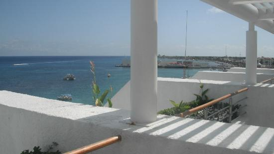 Casa Mexicana Cozumel: habitacion vist aal mar