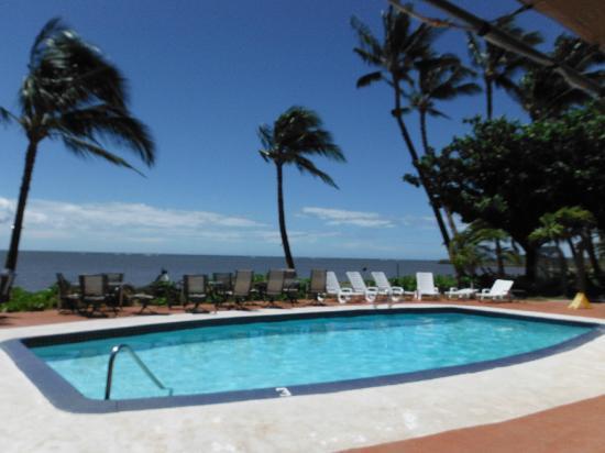 Hotel Molokai: poolside