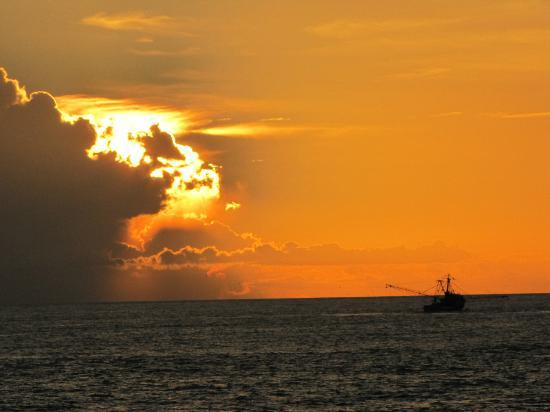 Sunrise at Tybee Island sept. 2012