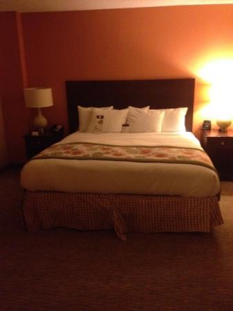 DoubleTree Suites by Hilton Hotel Atlanta - Galleria: comfy bed!!