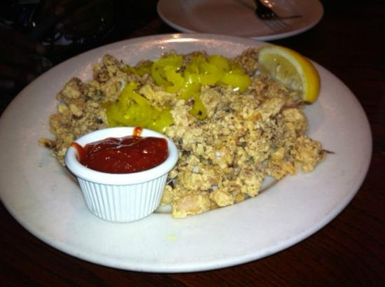 Upstream Brewing Company - Old Market Restaurant: Flash Fried Calamari