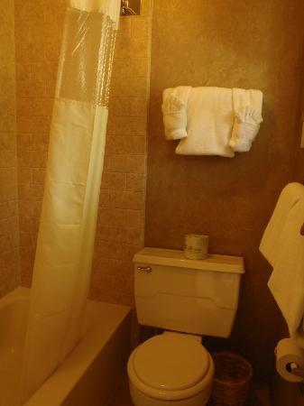 Pony Express Motel: Bathroom