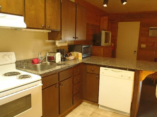 Pony Express Motel: Kitchen