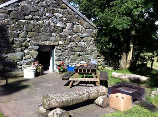 Seithfed Nef - A Seventh Heaven: amazing barn for evening bbq's and drinks