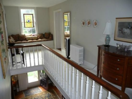 Sheffield, MA: The upstairs landing
