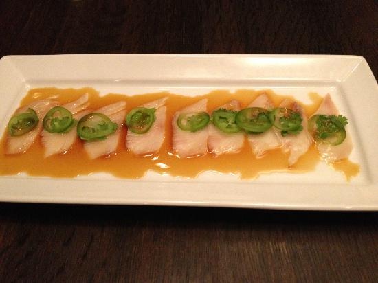 Sake Restaurant & Bar: Kingfish jalapeno sashimi