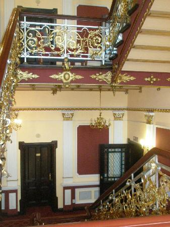 Hotel Pod Orlem: The lovely grand staircase