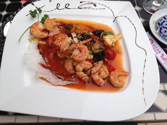 Chez Xuan Restaurant Asiatique: crevette du menu à 35€