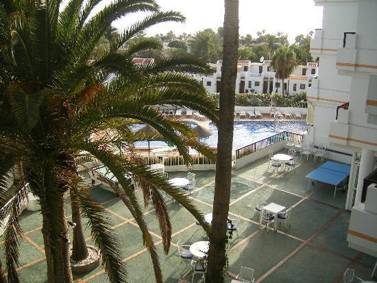 Aparthotel Club Bonanza: View from our room