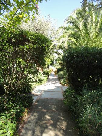 Residence Terra Rossa: Path to apartments