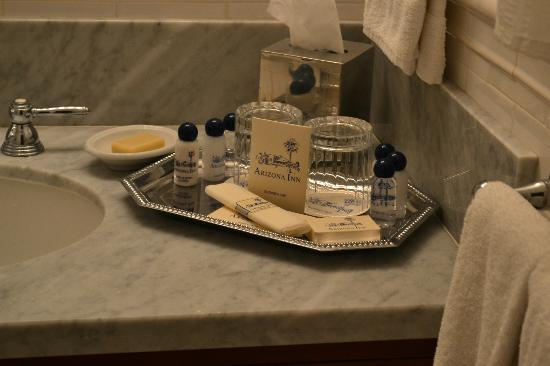 Arizona Inn: toiletries