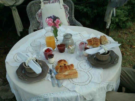 Le Moulin de Sonaille : desayuno de lujo